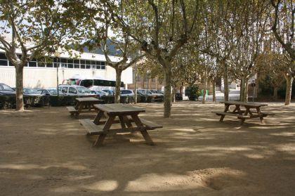 Parc Font Cuitora on es pot instal·lar la nova tauleta tennis taula
