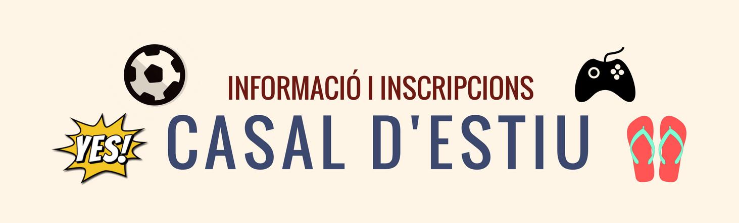 Informació i inscripcions