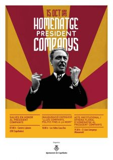 Cartell homenatge Companys